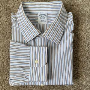 Brooks Brothers Long Sleeve Striped Dress Shirt XL